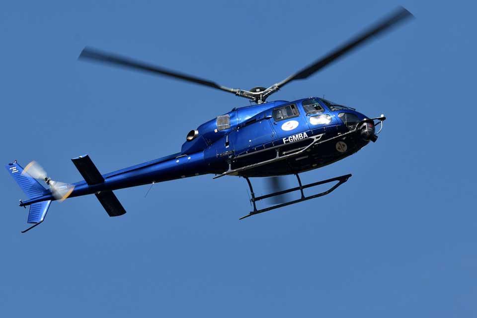 Exotur fretamento de helicoptero